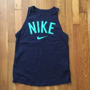 Navy Nike work out tank